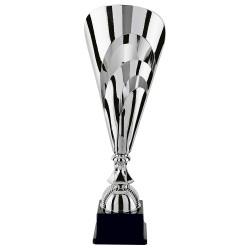 Trophée coupe prestige argent cône ajouré
