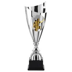 Trophée coupe luxe sport argent
