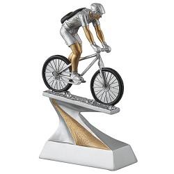 Trophée résine vélo tout terrain