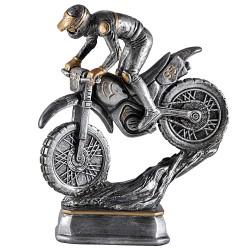 Trophée résine course moto cross