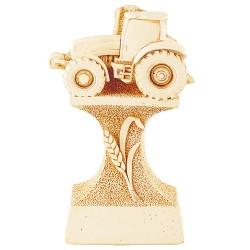 Trophée pierre du Gard tracteur agricole